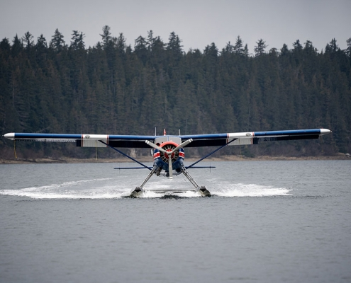 Parker Guide Service Mountain Goat Hunt Float Plane