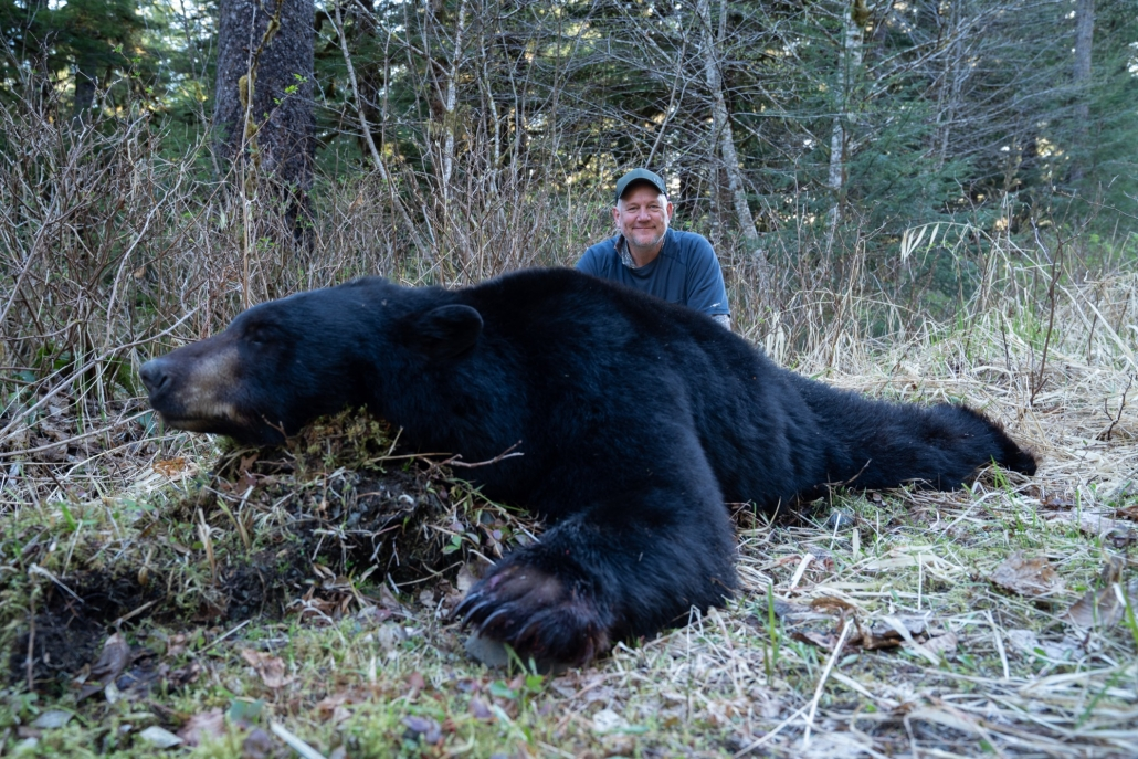 Alaska Black Bear Hunting with Alaska Boat Hunts